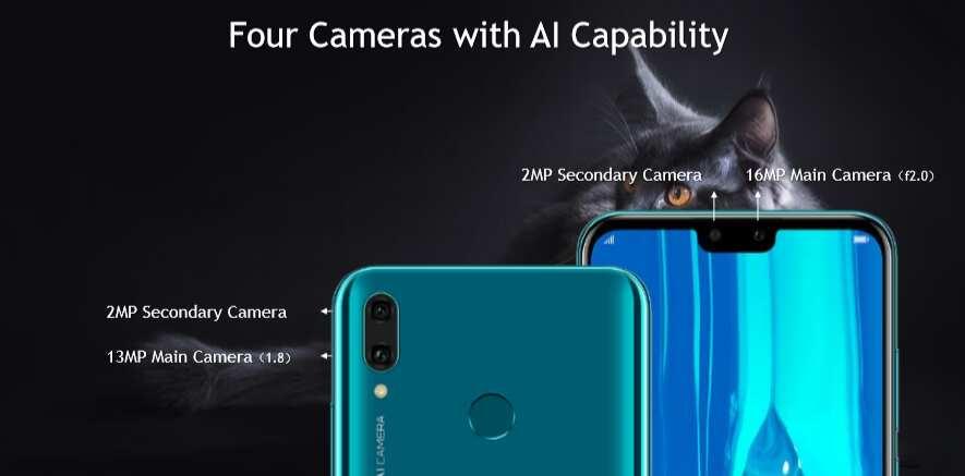 Big screen and selfie-lovers meet the Huawei Y9 2019