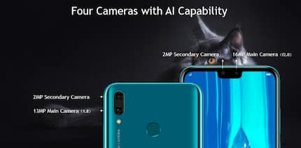 Big screen and selfie-lovers meet the Huawei Y9 2019