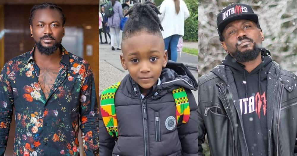 Samini: Another son of Musician pops up in Canada; Photos Excite Ghanaians Online