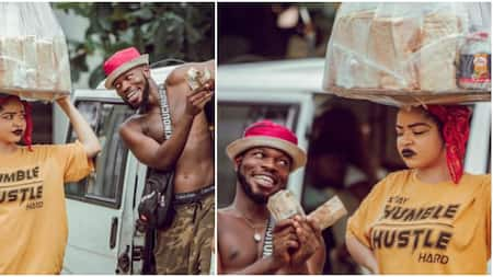 She's too fine for the role - Fans react to photos of BBNaija's Nengi as bread seller