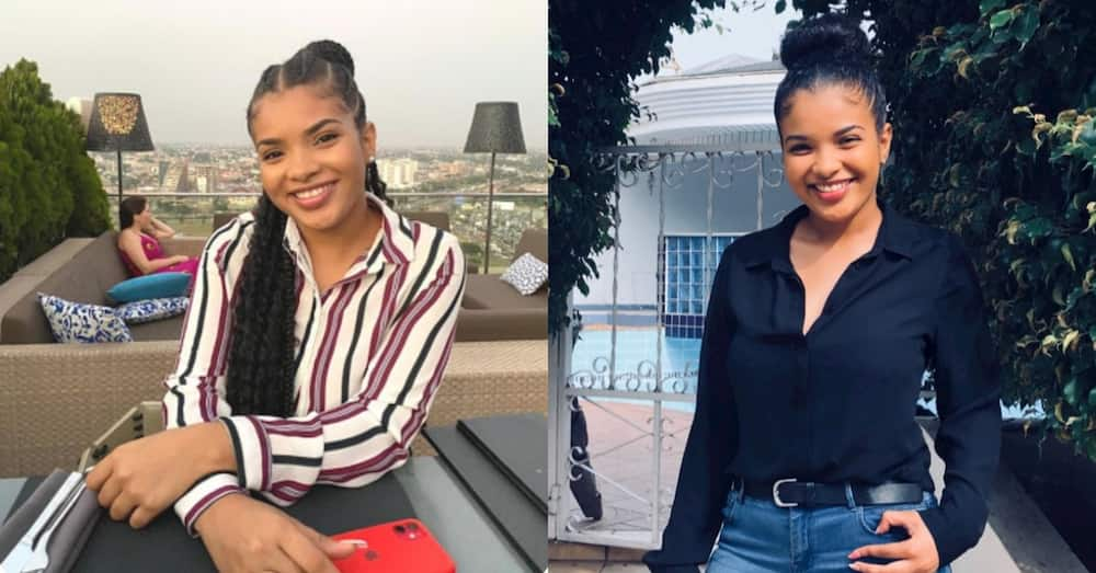Sabrina Awuni: 1st class Computer Engineering Graduate from UG in 2020 Employed at Bank of America