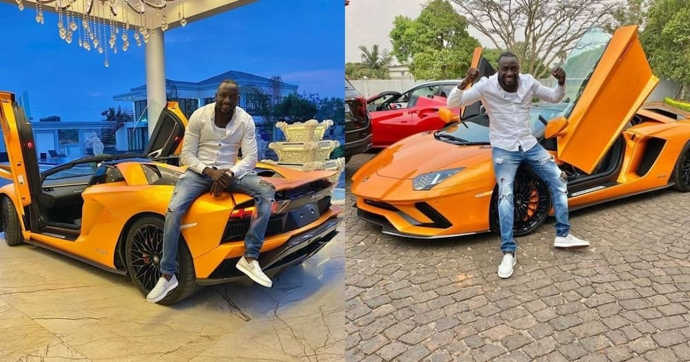 African businessman shows off his new ride: Internet reacts