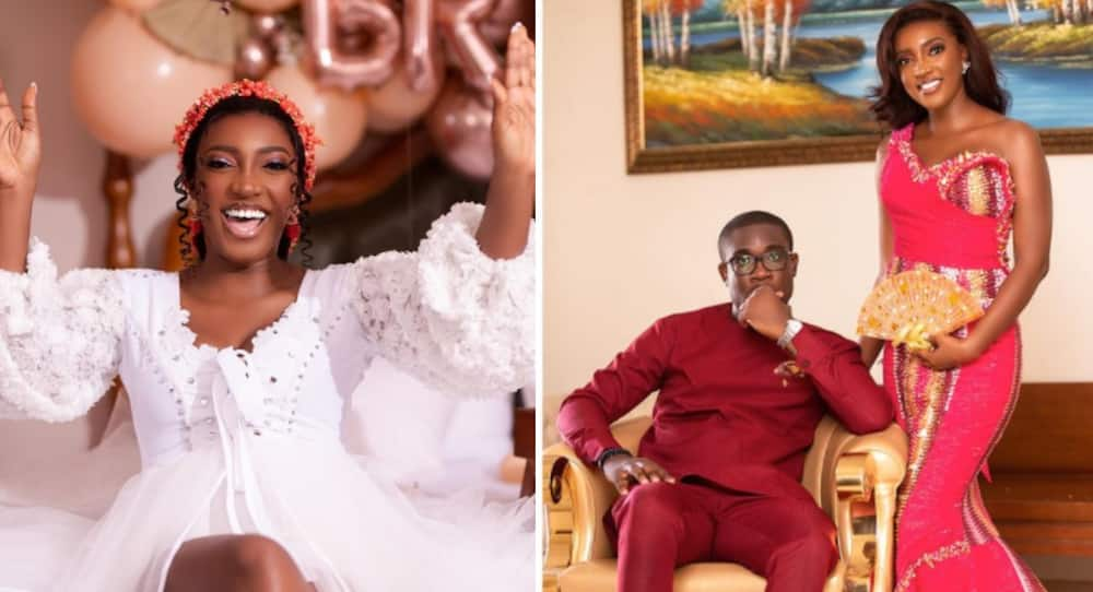 Roseline Okoro drops beautiful photos flaunting her husband 4 days after marriage