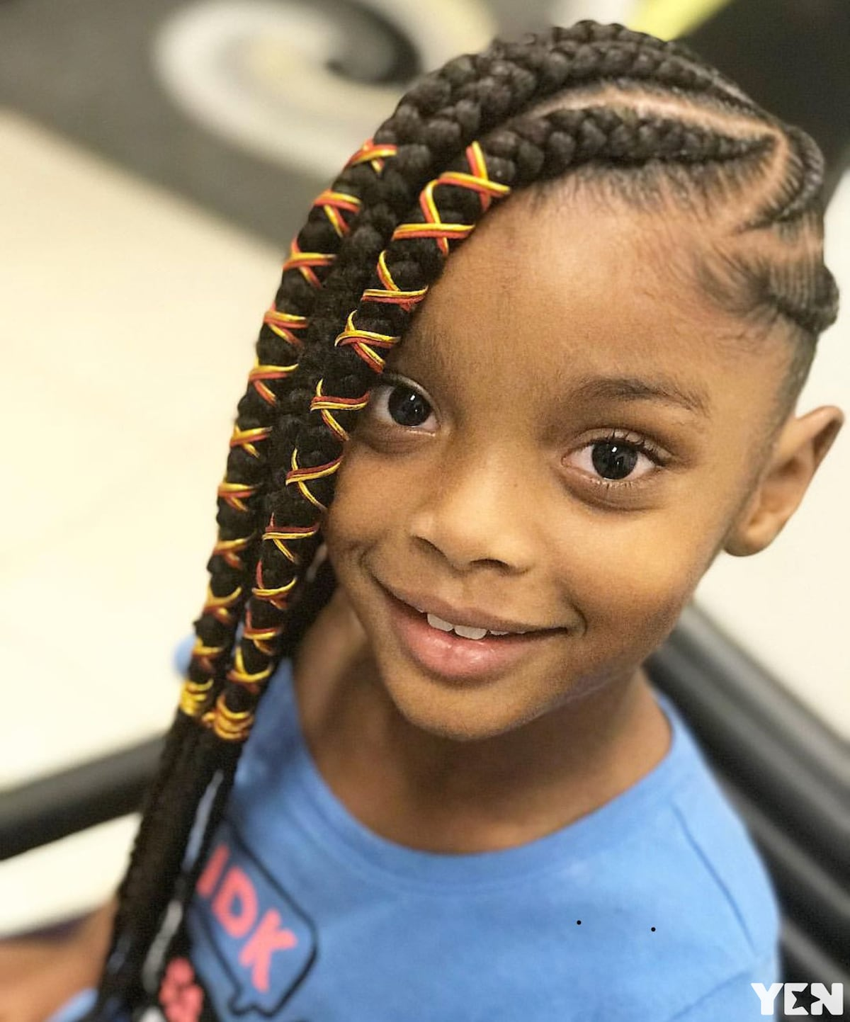 Best 25 Beautiful African Braids For Kids In 2019 Yen Com Gh