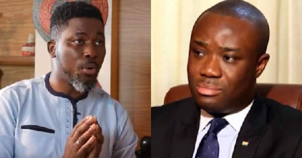 A-Plus speaks on Ofosu Kwakye being caught in a lady's room