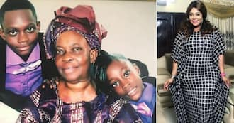 Top actress shakes the internet; shares lovely throwback photos of herself and her family