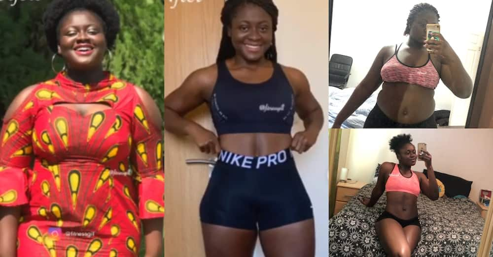 How it started & how it's going - Lady shares how she lost 30kg in 7 months