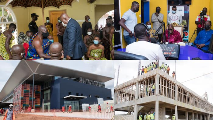 List of 15 activities of Akufo-Addo's 4-day working visit to the Ashanti region