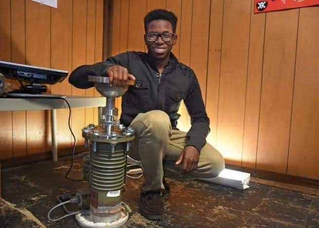 16-year-old Nigerian to become first black student to build a nuclear energy fusor