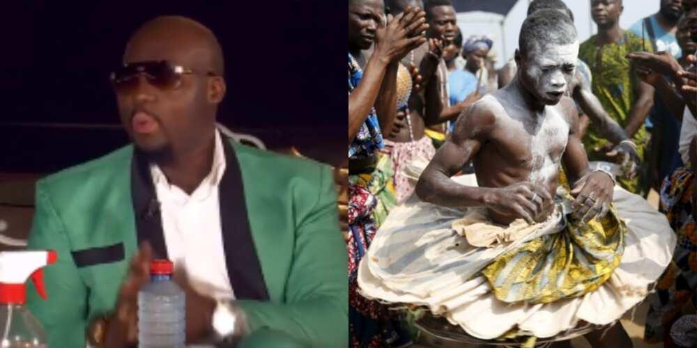 Ghanaian Sakawa man narrates how he slept inside coffin in Benin to make GHc15m