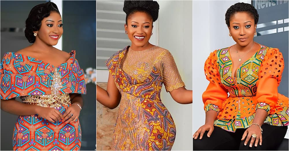 Anita Akuffo: 9 times TV3 presenter dazzled in African print (photos)