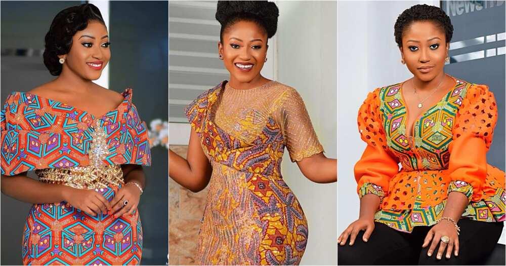 Anita Akuffo: 9 times TV3 presenter dazzled in African print (photos)