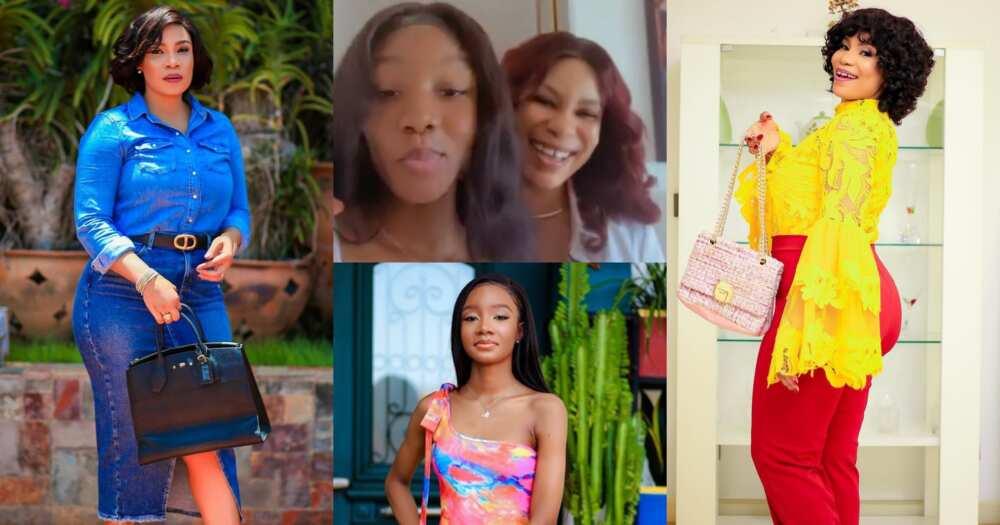 Selassie Ibrahim: Actress Flaunts Beautiful Daughter In Video; Nadia Buari, Uche Jombo, Others React