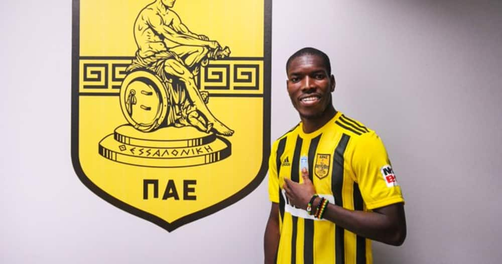 Ghanaian footballer Lumor Agbenyenu loses 4-weeks-old son days after signing new deal