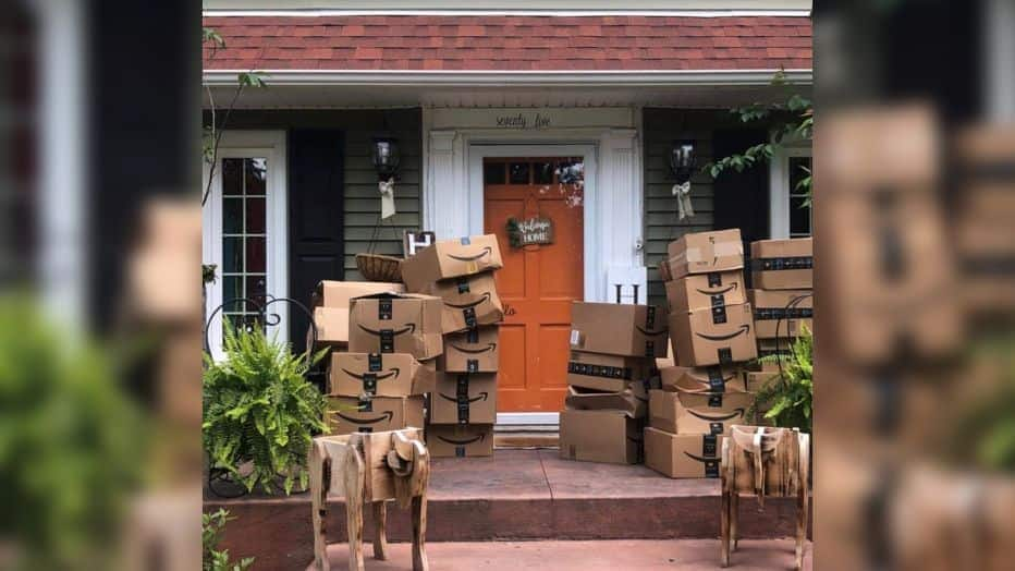 Woman Surprised After Receiving Hundreds of Amazon Packages She Didn't Order