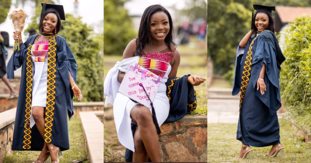 Gh Lady Bags Degree in Business Administration from Legon