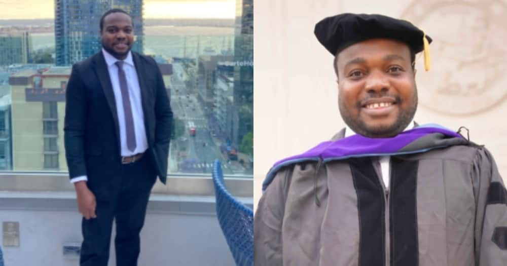 The journey wasn't easy - Man speaks truth as he graduates with a law degree