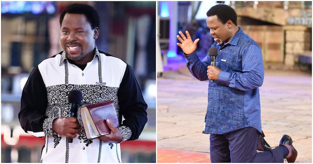 TB Joshua finally speaks after Lagos state govt ordered reopening of churches