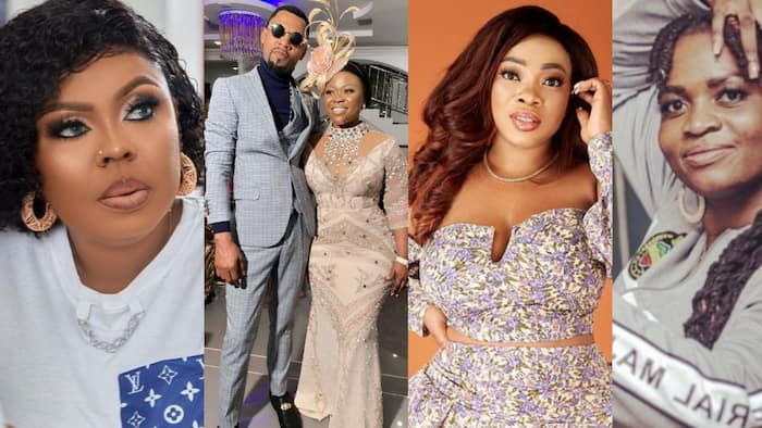 Afia Schwar spills dirty secrets Ayisha Modi told her about Obofour and Moesha in video; wife troubled