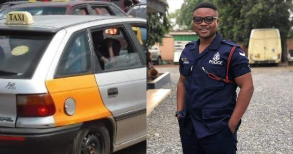 Policeman, taxi driver gets massive praise as they return missing items to rightful owner