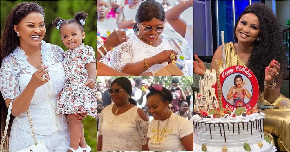 Nana Ama McBrown: Actress' mother surprises her on her birthday (video)