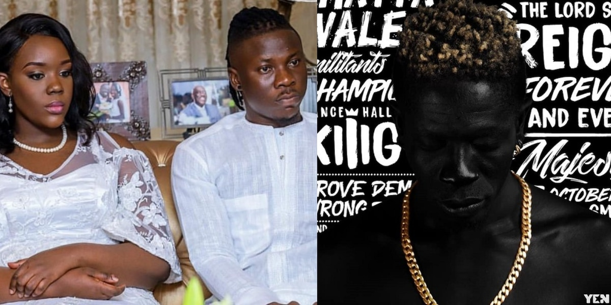 Stonebwoy stirs controversy; names his son after Shatta Wale's last album