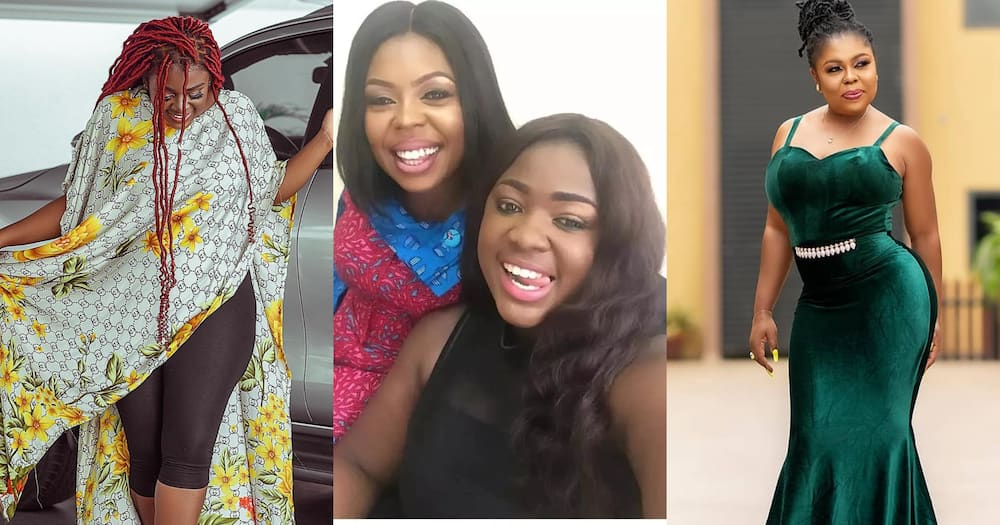 Afia Schwar exposes Tracey Boakye after actress claimed to have gifted her a car (photo)