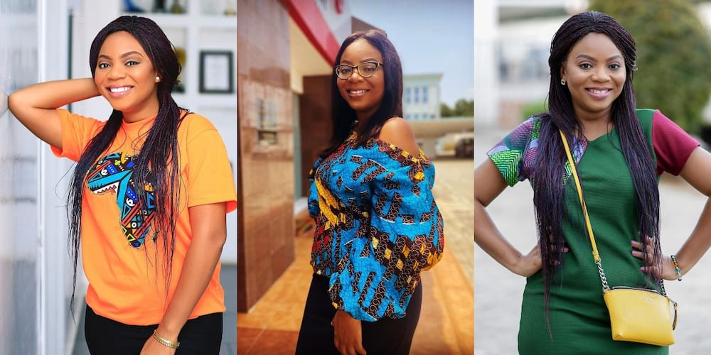 Wendy Laryea takes over the internet as she shines bright like a star in latest photo