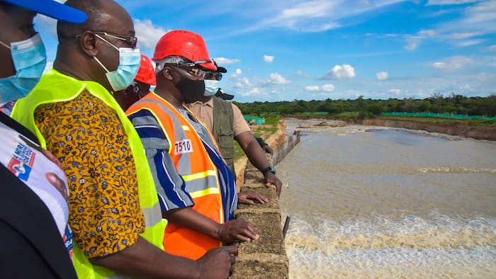Devastating photos drop of how the Bagri Dam spillage has caused havoc in the Upper East regio