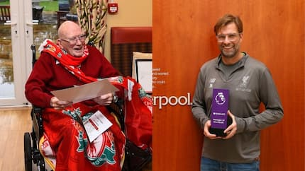 Liverpool boss Klopp sends surprise birthday package to a fan who turns 104 this month