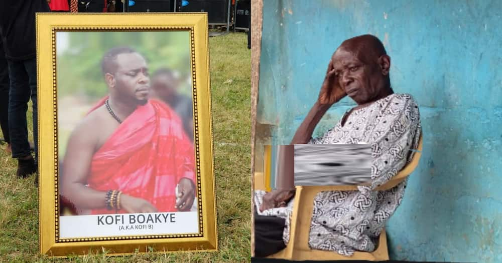 Kofi B's 'dead' father returns home after son's burial; family says singer's ghost brought him