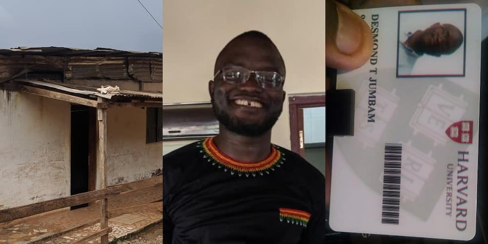 How it started vs How it's going: Ghanaian man recounts how he moved from a village to Harvard
