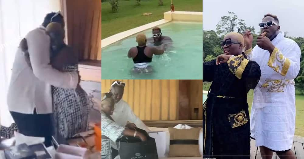 Fella Makafui Surprises Medikal With Expensive Gifts And A Getaway On His 27th Birthday