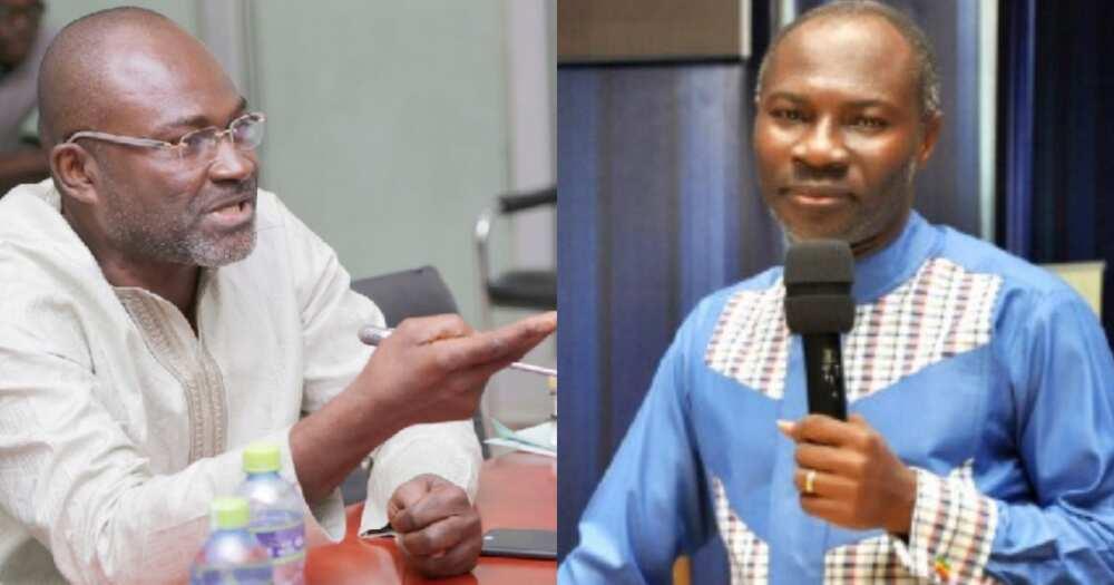 Badu Kobi deserves to be a shoeshine; not pastor - MP Ken Agyapong jabs preacher