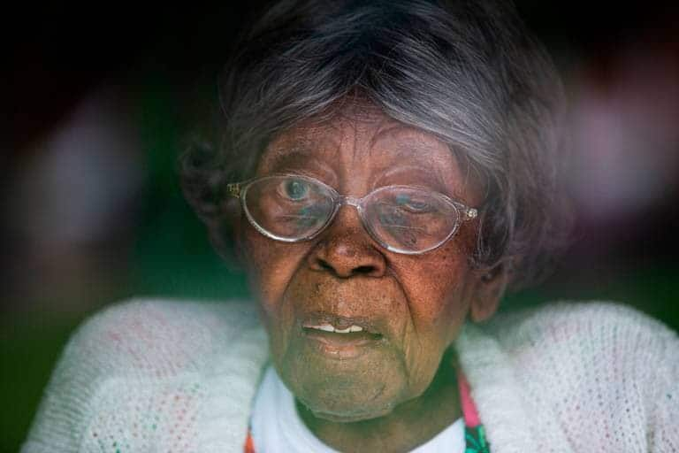 Oldest black woman in US with 200 great grandchildren celebrates 116th birthday