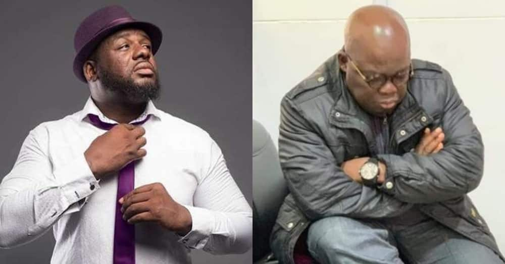 Ghanaians burn Bulldog online after he said if Nana Addo wins then God does not exist