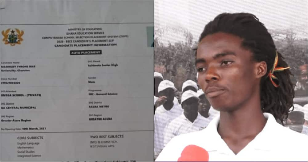 Tyrone Marghuy: Achimota Rasta Boy's Raw Scores In BECE, Other Certificates Pop Up Online