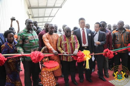 Akufo-Addo commissions $40m diaper factory under 1D1F