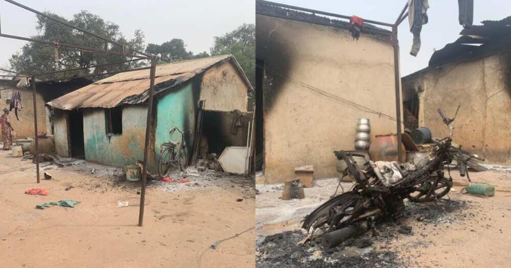 Twenty four houses burnt in chieftaincy dispute in Tamale