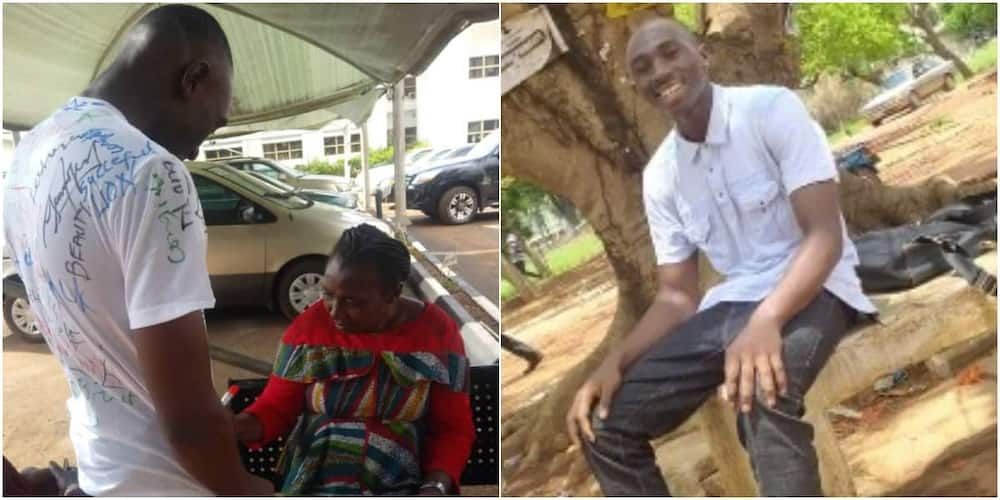 Chidiebere Anyanwu made himself and his mum proud