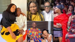 13 photos of how the favourite Ghanaian stars celebrated their daddies on Fathers Day