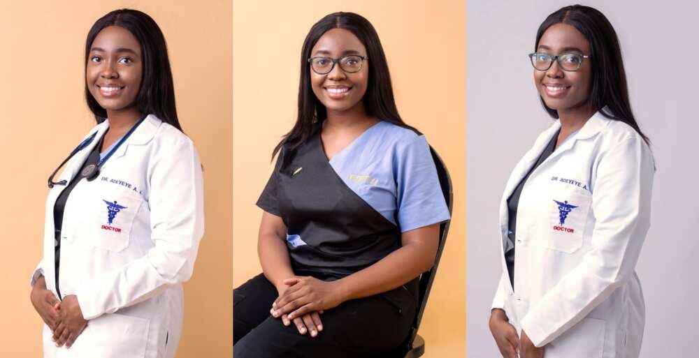 Adebisi Adeyeye: Stunning lady Causes Traffic Online as she Graduates as Medical Doctor