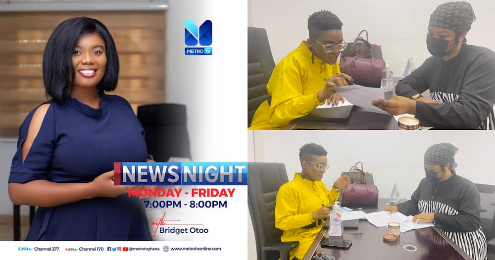 Bridget Otoo Not Sacked From Metro TV As She Shares From Work