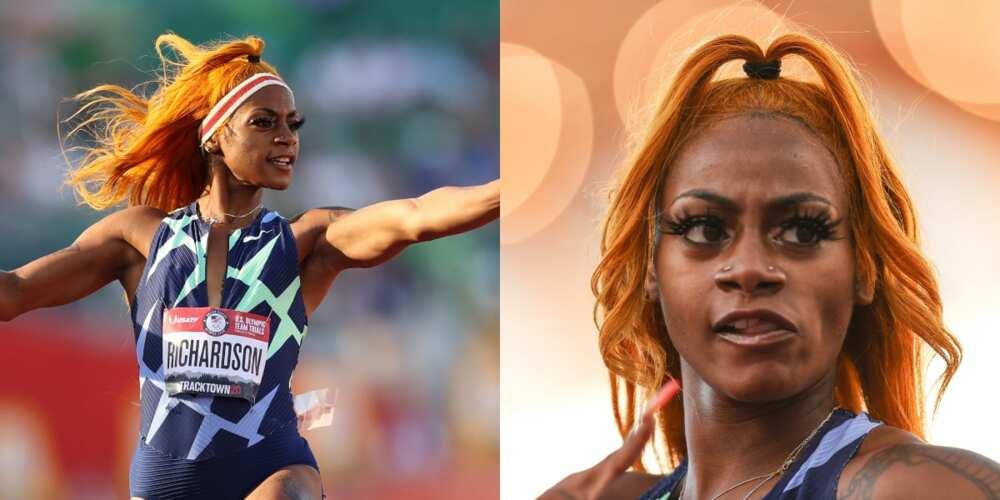 US Sprinter Sha'Carri Richardson, marijuana, drug test, suspension
