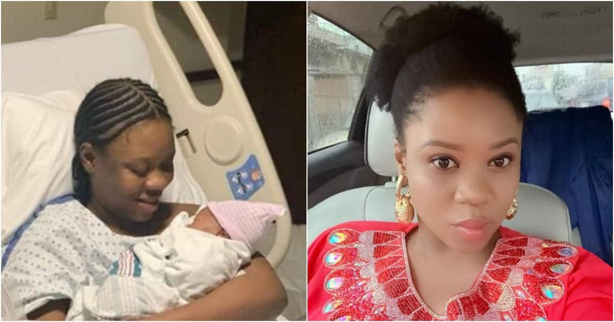 Top actress welcomes her first child in the US