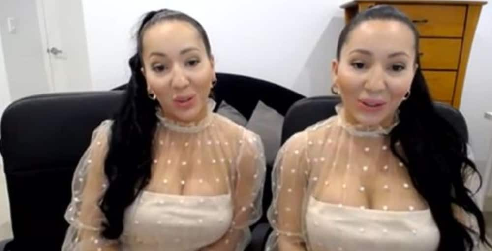 World's most identical twins who share boyfriend promise to conceive at same time