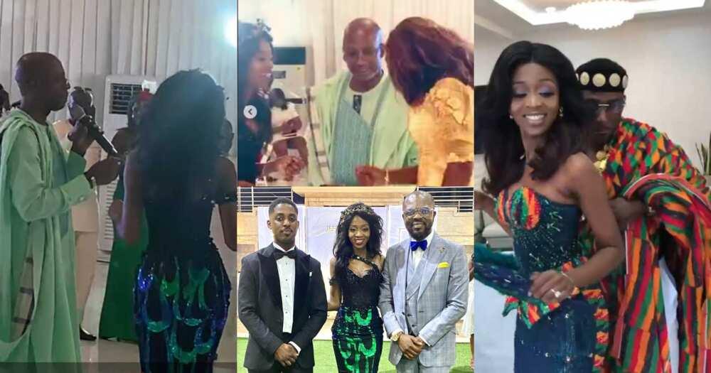 Beautiful photos drop as Rex Omar's pretty daughter marries