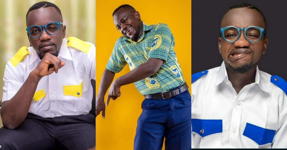 My family rejected me for going into comedy as a 1st class student - Ghanaian comedian Ajeezay