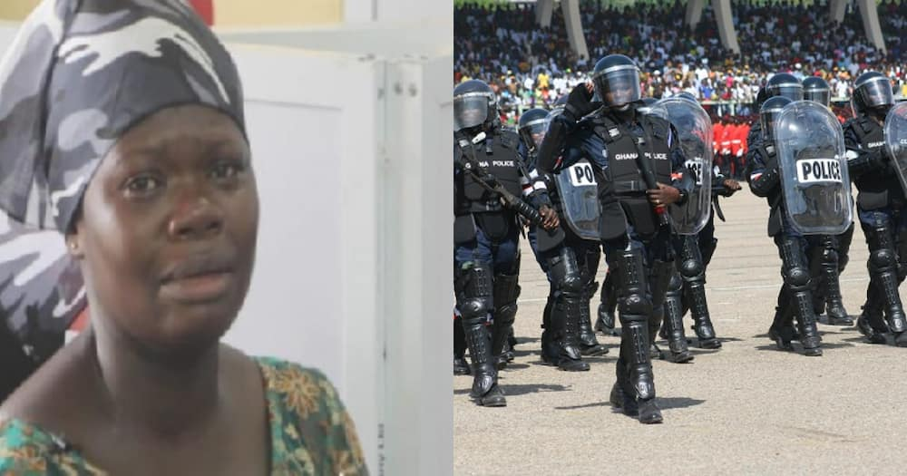 Tomato seller reveals how policeman duped her of GH¢ 5,000 in a recruitment scam