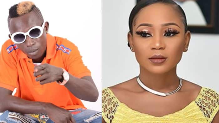 """Patapaa comments on Akuapem Poloo's sentence in new video; fans call him """"bush man"""""""